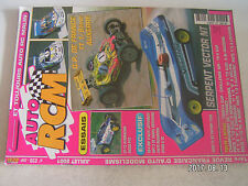 **a2 Revue Auto RCM n°238 GT 15 Avioracing  Serpent Vector NT  EB-4 BBF MP7 . 5