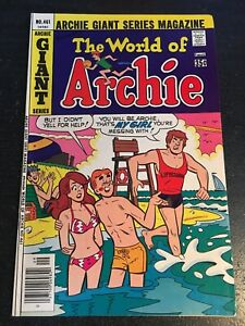 "Archie Giant Series Magazine#461 Incredible Condition 9.0(1977)""World Of Archie"""
