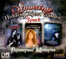AMAZING HIDDEN OBJECT GAMES 3 Pack - Brand NEW PC Game