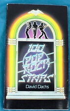 1980 100 POP ROCK STARS BY DAVID DACHS -FREE SHIPPING-