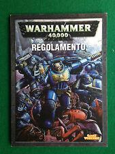 WARHAMMER 40,000 - REGOLAMENTO , Ed Game Workshop (2004) ITA