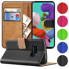 Schutz Hülle für Samsung Galaxy Handy Klapp Tasche Book Flip Case Schutzhülle