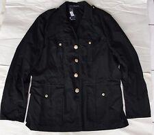 NWOT Polo Ralph Lauren Men's Canadian Utility Combat Jacket Coat Black Sz L