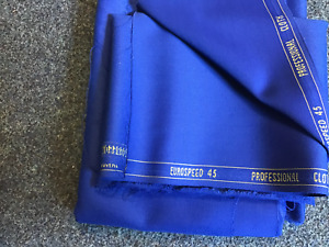 Pool Table Speed Cloth ROYAL BLUE - Bed & 6  Cushions 7ft x 4ft  Wool /Nylon