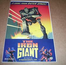 The Iron Giant Promotional Comic 1999 Rare Excellent Condition