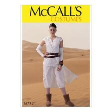 McCALL'S SEWING PATTERN COSTUMES MISSES' TABARD STAR WARS REY SML-XIG M7421