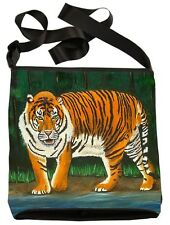 Tiger Large Cross Body Bag  by Salvador Kitti - Support Wildlife Conservation