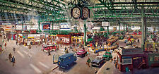 Gibsons - 636 PIECE PANORAMIC JIGSAW PUZZLE - Under The Clock