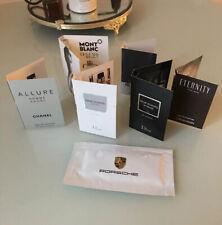 Parfumproben Herren Chanel I Dior I Mont Blanc I Porsche Erfrischungstuch