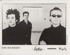 Love and Rockets- Music Memorabilia Photo
