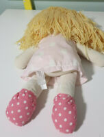 Cocalo Doll Plush Toy Girl Wearing Pink Dress & Spotty Shoes 42cm Tall!