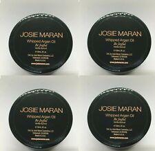 4 x JOSIE MARAN Whipped Argan Oil in Be Joyful  - 2 oz Body Butter
