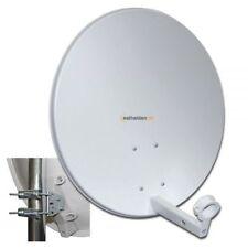 60 cm Sat Spiegel Satelliten Antenne Megasat Stahl lichtgrau