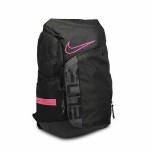 Nike Elite Pro Breast Cancer Awareness Basketball Backpack Black Pink BA6164-011