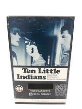 Ten Little Indians Beta Betamax Oliver Reed Magnetic Video RARE