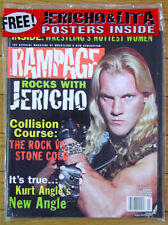 Rampage Wrestling Magazine - March 2001 -  Chris Jericho - Brand New!