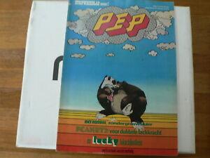 PEP COMIC 1974-2 PEP OLIFANT POSTER DARGAUD,LUCKY LUKE BUFFALO BILL,KUIFJE PERSI