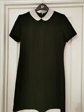Topshop Negro Vestido Cuello Peter Pan-Talla 10-Aso