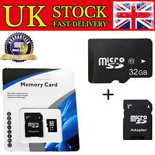 32GB Micro SD Card Class 10 TF Flash Memory Mini SDHC SDXC With Free Adopter UK