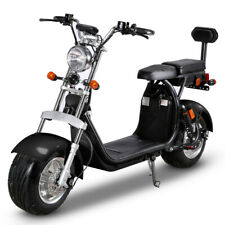 SoverSky Electric Moped Bicycle 2000W 2 seats Fat Tire Citycoco Scooter Sl1.0