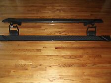 "2015-2017 Ford F150 crew cab step side bars oem running boards 5"" gray factory"