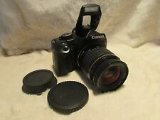 Canon EOS 450D 12.2MP Digital SLR Camera - Black Kit w/ EF 28 80mm  usm mark ii.