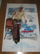 Junior Bonner Original 1sh Movie Poster