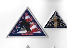 Orig USAF NRO VAFB 30SW 4SLS NROL-71 Satellite Mission Launch Patch & Coin -2pcs