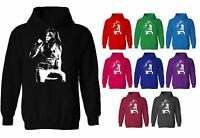 Bruce Dickinson Iron Maiden Iconic Rock Unisex Pullover Hoodie