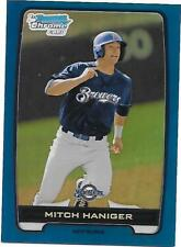 2012 BOWMAN CHROME DRAFT DRAFT PICKS #BDPP14 MITCH HANIGER BLUE REFRACTOR QTY