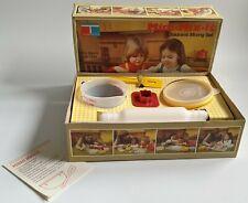 More details for tupperware mini mix it children mixing set toy vintage london 1979 unused bnib