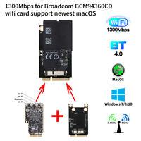 macOS Handoff Continuity Wifi Card for Broadcom BCM94360CD 802.11ac BT 4.0