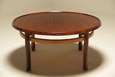 Vintage Rosewood Coffee Table by Torbjorn Afdal for Bruksbo Mid-century Scandina