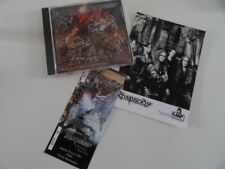 rhapsody cd signed  + ticket concert + photo promo. rare