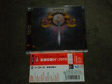 Toto S/T Japan CD Steve Lukather Steve & Jeff Porcaro