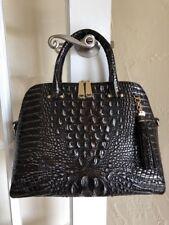 Brahmin Sydney Satchel Ironwood Melbourne Leather