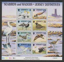 Jersey 1997. Seabirds Definitives Part 3. MS806c  MNH