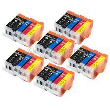 30 Cartucce XL per CANON ip3300 ip4200 ip4300 ip4500 ip5200 mp500 mp600