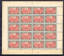 Full Sheet Germany 5 Mark Reichspost No 66 Reprint