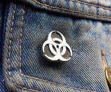 BIOHAZARD Pewter Pin Badge