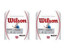 2X WILSON WRR943200 - Cordage Squash Sensation Strike 17 1.24 mm *NEUF*