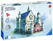 Puzzle 3D 216 pz Building Castello di Neuschwanstein Ravensburger 12573