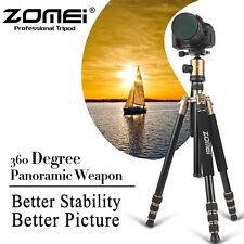 Z818 Pro Portable Aluminum Travel Tripod Monopod&Ball Head for Digital Camera