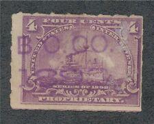 Rb-30 B.O. .Co . 1898. in purple.160209