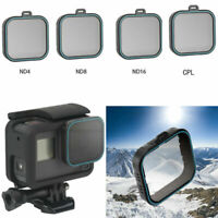 TELESIN Neutral Density ND4/ND8/ND16 CPL Lens Filters Kits for Gopro Hero 5/6/7