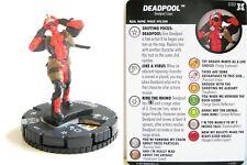 Heroclix Deadpool and X-Force - #033 Deadpool