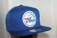Philadelphia 76'ers Mitchell & Ness NBA  Primary Reflective Snapback,Hat,Cap