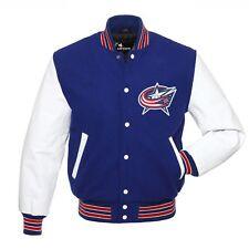NHL Columbus Blue Jackets  Varsity jacket small medium  Large XL 2XL 3XL
