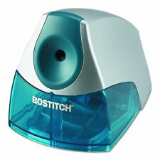 Bostitch Personal Electric Desk Top Office Pencil Sharpener - Blue