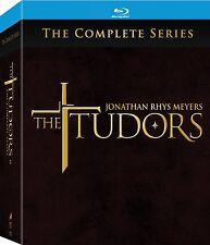The Tudors: Complete Season 1, 2, 3 & 4 Blu-ray box set Region Free New & Sealed
